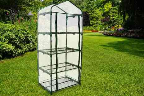 Who Needs Shops - Four tier mini greenhouse - Save 0%