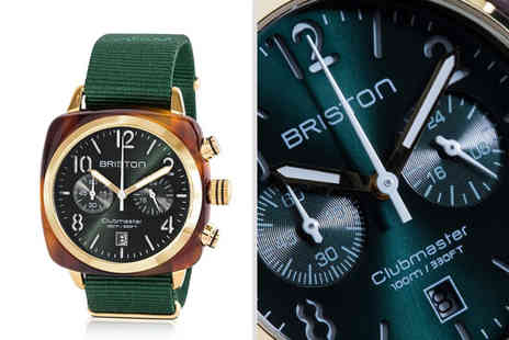 Best Watch Company - Mens Briston Clubmaster chronograph watch - Save 56%