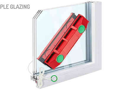 Shop Story - Magic Magnetic Window Cleaner For Single, Double or Triple Glazing - Save 53%