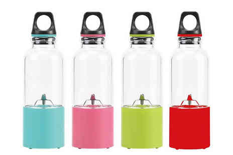 Fantasy Supply - Mini USB Rechargeable Blender Available in 4 Colours - Save 90%