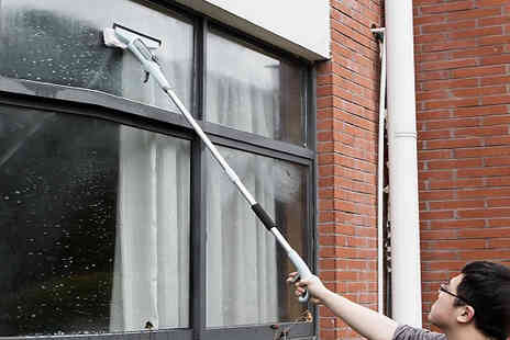 Home Season - Window Cleaner with Spray Jet - Save 70%