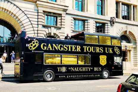 Gangster Tours - Ticket for one person to a 90 minute London gangster bus tour with entry to The Clink museum - Save 38%