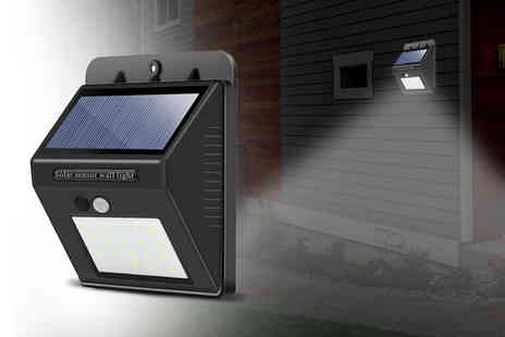 Bellap - Set of three solar Led security lights - Save 76%