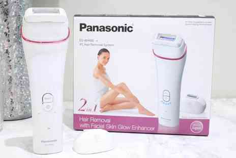 Hanaco - Panasonic cordless Ipl hair removal system - Save 53%