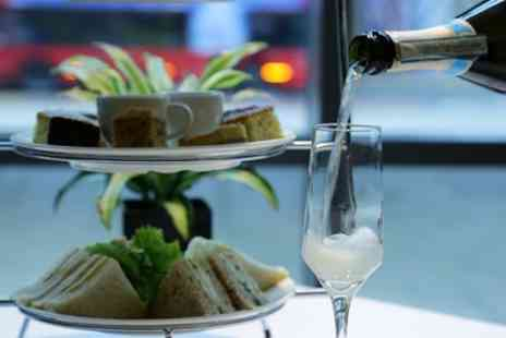 Hilton London Canary Wharf - Sparkling Afternoon Tea for Two on a Weekday or Weekend - Save 57%