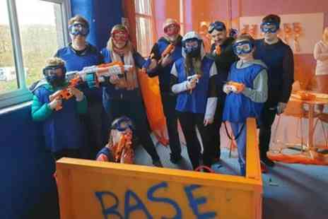Blackburn Dart Zone - 20 Minute Indoor Nerf Game Sessions for Up to Six - Save 37%