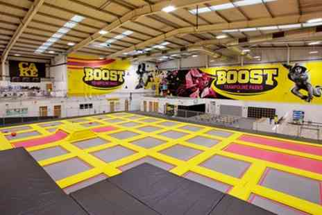 Boost Trampoline Parks - One or Two Hour Trampoline Park Access for One or Two - Save 20%