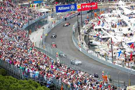 Virgin Experience Days - 2019 Formula 1 Monaco Grand Prix Day Trip with Grandstand Seat and Hospitality - Save 0%