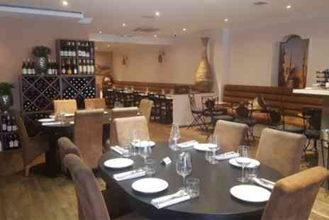 Mazzat - Two Course Lebanese Lunch or Vegetarian Platter - Save 33%