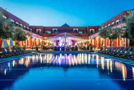 Crystal Travel - Three nights all inclusive Marrakech holiday with return flights - Save 26%