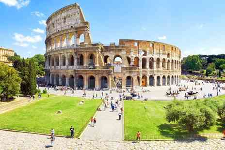 Bargain Late Holidays - Four Star Escape with a two or three nights getaway to Rome Now with the ability to choose your flight - Save 0%