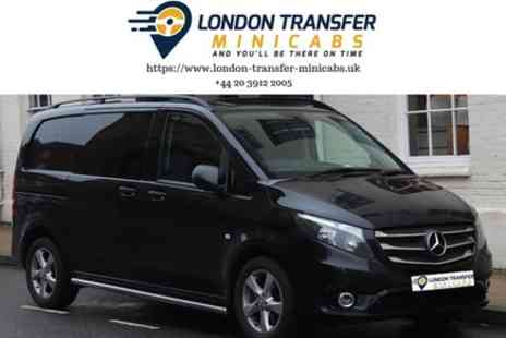 London Transfer Minicabs - Heathrow Airport to Cambridge Private Minibus Transfer - Save 0%