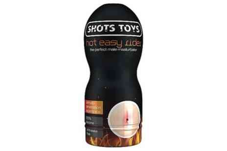 Groupon Goods Global - Shots Easy Rider Anal Masturbator - Save 51%