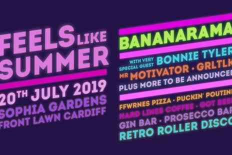 Feels Like Summer Festival - One junior or adult ticket from 20th July - Save 50%