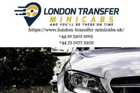 London Transfer Minicabs - London to Gatwick Airport Private Transfer - Save 0%