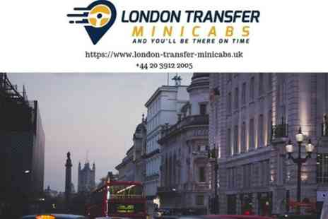 London Transfer Minicabs - Gatwick Airport to London Private Transfer - Save 0%