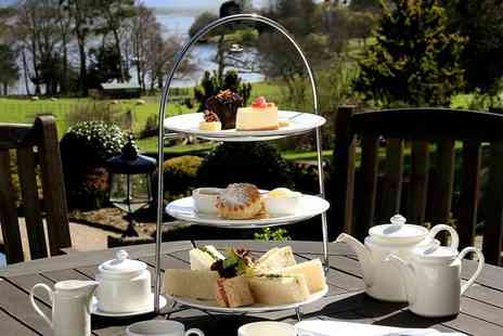 Macdonald Kilhey Court - Afternoon tea for two people or Include a glass of Prosecco each - Save 53%