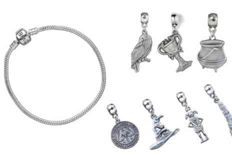 Groupon Goods Global GmbH - Official Harry Potter Charm Bracelet or Set of Charms - Save 42%