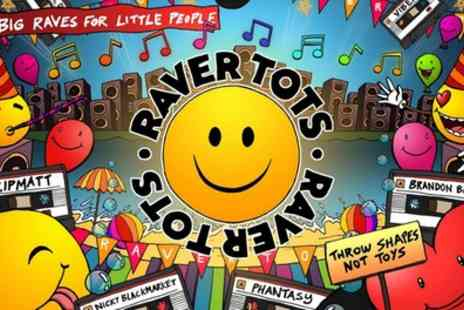 Raver Tots UK Tour - Ticket for one adult and one child or two adults and two children from 20th April To 18th May - Save 17%