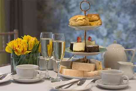 The Orchid Hotel - Traditional afternoon tea for two people with a glass of Prosecco each - Save 45%