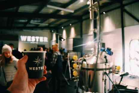 Wester Spirit Co Distillery - Distillery Tour and Cocktail Mixing Class for One or Two - Save 20%