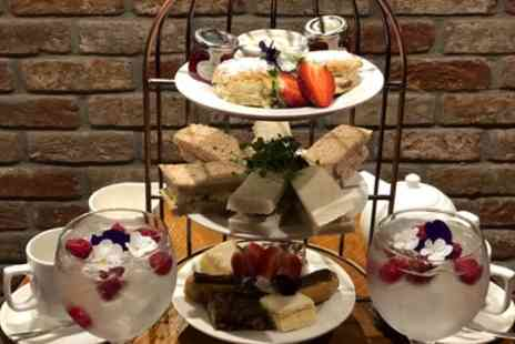 The Engine Shed Wetherby - Traditional or Gin Afternoon Tea for Two or Four - Save 31%