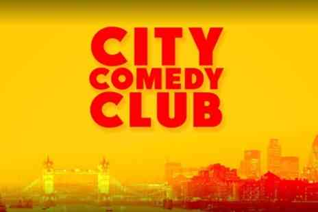 City Comedy Club - Entry for Up to Six - Save 50%