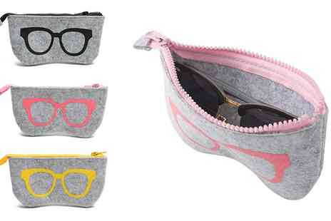 Groupon Goods Global GmbH - One, Two or Three Multifunctional Glasses Bags - Save 0%