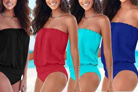 Groupon Goods Global GmbH - Bandeau Swimsuit - Save 0%