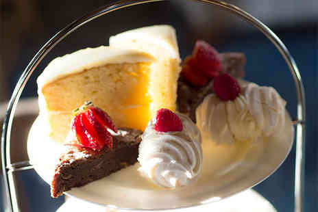 Hilton Garden Inn - Afternoon tea for two people, include a glass of Prosecco each - Save 31%