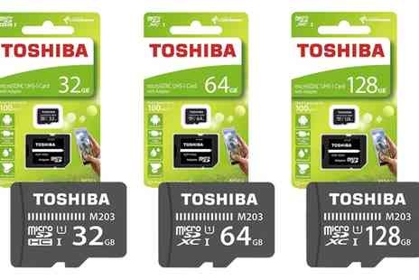 Groupon Goods Global GmbH - Toshiba Exceria MicroSD Card with Adapter - Save 0%
