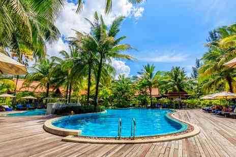 Khaolak Bhandari Resort & Spa - Four Star Relaxed Island Escape with Various Optional Excursions for two - Save 64%