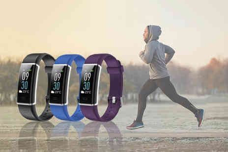 hey4beauty - Fitness tracker w Hr And Bp monitor - Save 76%