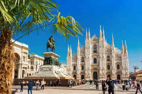 Crystal Travel - Four nights Milan and Venice getaway with train between cities and return flights - Save 42%