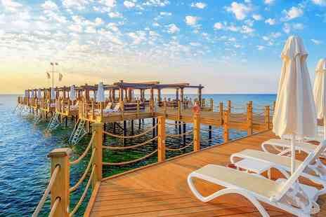 Cyprus Paradise - Ultra All Inclusive beach holiday with tour & room upgrade - Save 0%