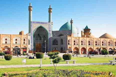 LUMLE HOLIDAYS - 13 nights Iran tour with flights, meals & excursions - Save 0%
