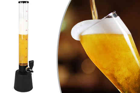 Who Needs Shops - Beer tower dispenser - Save 72%