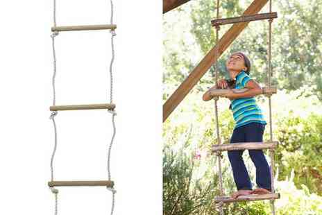 Who Needs Shops - Kids outdoor garden rope ladder - Save 77%