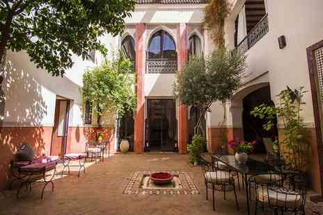 Riad Soumia -  A Jewel in the Heart of the Medina for two - Save 0%