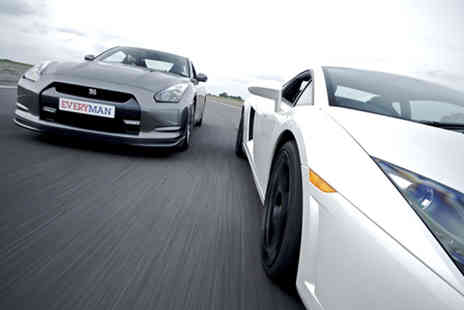 Everyman Racing - Junior supercar driving experience in one cars - Save 0%