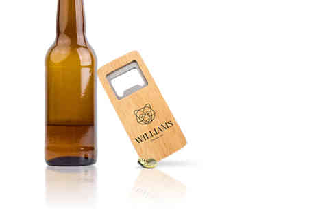 Personalised Gifts Market - Personalised engraved rectangle bottle opener - Save 0%