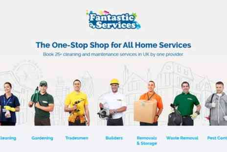 Fantastic Services - £20 Toward Home Services - Save 80%