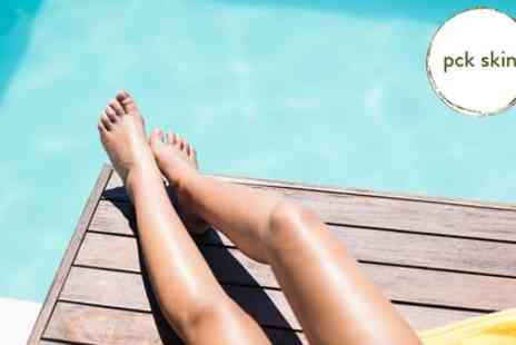 PCK Skin - Three or Six Sessions of Laser Hair Removal on a Small, Medium or Large Area - Save 81%