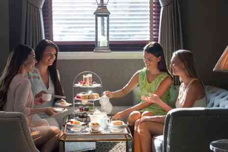 The Royal Bath Hotel - Traditional or Champagne Afternoon Tea with Leisure Access for Up to Four - Save 46%