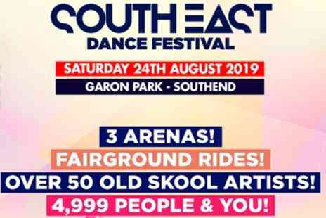 Eventus Shows - One early entry ticket to South East Dance Festival with a £5 drinks voucher from 24th August - Save 32%