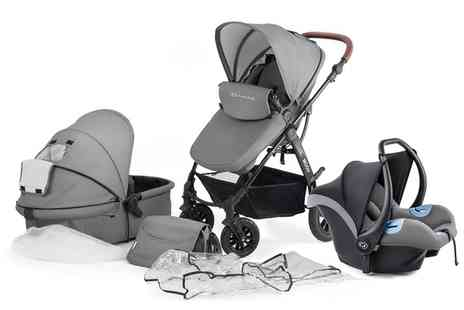 Groupon Goods Global GmbH - Kinderkraft Three in One MOOV Stroller With Free Delivery - Save 9%