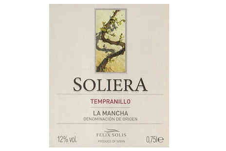 MGB Lifestyles - 12 Bottles of Soliera Red Wine - Save 67%