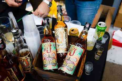 The Rum Festival - Two tickets including a reggae rum punch cocktail, a branded souvenir glass and brochure - Save 72%