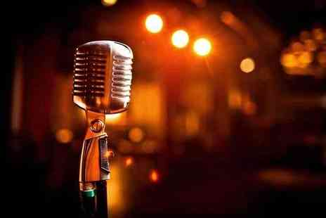 The Covent Garden Comedy Cellar - Live comedy for two people including a pizza and a Champagne cocktail each - Save 50%