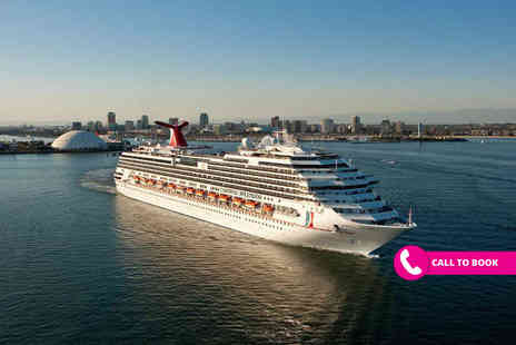 Viva Cruise - Seven nights Las Vegas, Los Angeles and San Francisco hotel stay with a seven night full board Mexican Riviera cruise and return flights - Save 31%
